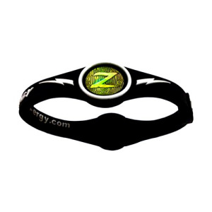 ZEN-ERGY Balance Bands - for Power, Strength, Agility, Focus, Well Being, & Positive Energy Flow (Black Band with White, Medium (190mm))