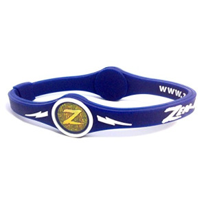 ZEN-ERGY Balance Bands - for Power, Strength, Agility, Focus, Well Being, & Positive Energy Flow (Blue Band with White, Large (202mm))