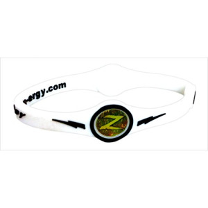 ZEN-ERGY Balance Bands - for Power, Strength, Agility, Focus, Well Being, & Positive Energy Flow (White Band with Black, Medium (190mm))